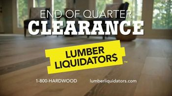 Lumber Liquidators End of Quarter Clearance TV Spot, 'Style, Beauty, Value' - Thumbnail 10