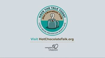 Committee for Children TV Spot, 'The Hot Chocolate Talk' Feat. Ashley Judd - Thumbnail 8