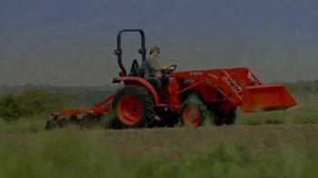 Kubota Bring on Spring Event TV Spot, 'L2501 HST Tractors' - Thumbnail 1