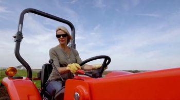 Kubota Bring on Spring Event TV Spot, 'L2501 HST Tractors' - Thumbnail 3