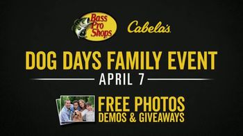 Bass Pro Shops & Cabela's Dog Days Family Event TV Spot, 'Together for You' - Thumbnail 10