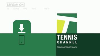 Tennis Channel App TV Spot, 'Easy to See' - Thumbnail 10