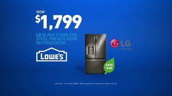 Lowe's TV Spot, 'Not Enough Fridge: LG Stainless Steel' - Thumbnail 10