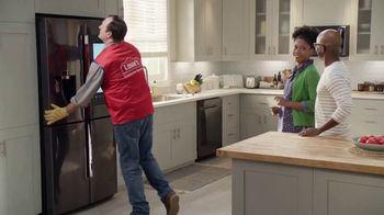 Lowe's TV Spot, 'Not Enough Fridge: LG Stainless Steel' - Thumbnail 9