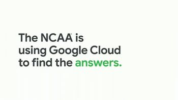 Google Cloud TV Spot, 'NCAA: Google Knows Champions' - Thumbnail 7