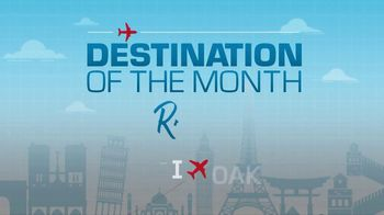 Oakland International Airport TV Spot, 'Fly Nonstop OAK to Rome' - Thumbnail 3