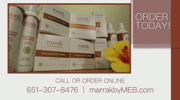 Marrák All Natural Hair Recovery Cream TV Spot, 'Comfort and Confidence' - Thumbnail 8