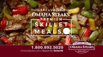 Omaha Steaks Skillet Meals TV Spot, 'Four Complete Meals' - Thumbnail 2