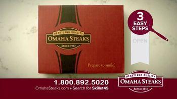 Omaha Steaks Skillet Meals TV Spot, 'Four Complete Meals' - Thumbnail 3