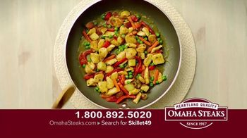 Omaha Steaks Skillet Meals TV Spot, 'Four Complete Meals' - Thumbnail 5