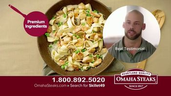 Omaha Steaks Skillet Meals TV Spot, 'Four Complete Meals' - Thumbnail 6