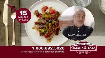 Omaha Steaks Skillet Meals TV Spot, 'Four Complete Meals' - Thumbnail 9