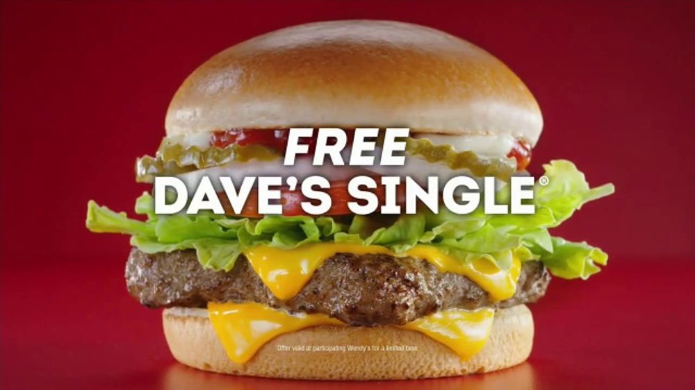 Wendy's Dave's Single TV Commercial, 'Bracket Busting Let Down'