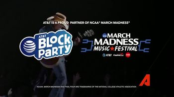 2018 AT&T Block Party TV Spot, '2018 March Madness: Rock the Final Four' - Thumbnail 8