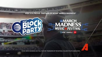 2018 AT&T Block Party TV Spot, '2018 March Madness: Rock the Final Four' - Thumbnail 9