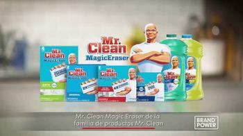 Mr. Clean Magic Eraser TV Spot, 'Brand Power: restos de jabón' [Spanish] - Thumbnail 9