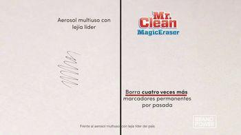 Mr. Clean Magic Eraser TV Spot, 'Brand Power: restos de jabón' [Spanish] - Thumbnail 7