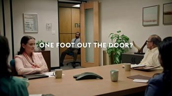 Monster.com TV Spot, 'One Foot Out the Door'