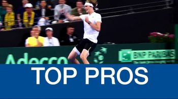 Tennis Channel Plus TV Spot, 'WTA Charleston and Davis Cup Action' - Thumbnail 7