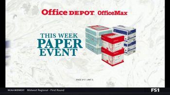 Office Depot OfficeMax Paper Event TV Spot, 'Boise Paper and Subscription' - Thumbnail 7