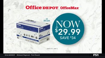 Office Depot OfficeMax Paper Event TV Spot, 'Boise Paper and Subscription'