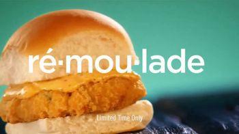 White Castle Seafood Crab Cake Slider TV Spot, 'Rémoulade' - Thumbnail 4