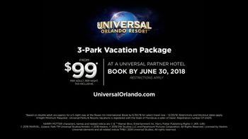 Universal Orlando Resort TV Spot, 'Unapologetically Awesome: 3-Park Package $99' - Thumbnail 9