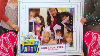Build-A-Bear Workshop TV Spot, 'Birthday Parties: Most Fun Ever' - Thumbnail 9
