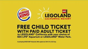 LEGOLAND California Resort TV Spot, 'Burger King Coupon' - Thumbnail 10