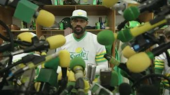 Sprite TV Spot, 'The Big Taste Post Game Interview' Featuring LeBron James
