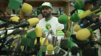 Sprite TV Spot, 'The Big Taste Post Game Interview' Featuring LeBron James - Thumbnail 4