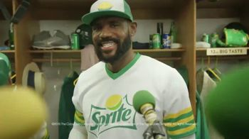 Sprite TV Spot, 'The Big Taste Post Game Interview' Featuring LeBron James - Thumbnail 8