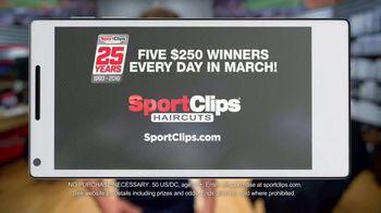 Sport Clips TV Spot, 'Online Check In' - Thumbnail 10
