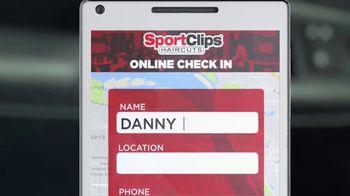 Sport Clips TV Spot, 'Online Check In' - Thumbnail 5