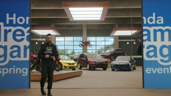 Honda Dream Garage Spring Event TV Spot, 'Big Deal' Feat. James Hinchcliffe