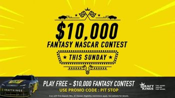 DraftKings $10,000 Fantasy NASCAR Contest TV Spot, 'Checkered Flag' - Thumbnail 3