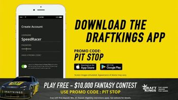 DraftKings $10,000 Fantasy NASCAR Contest TV Spot, 'Checkered Flag' - Thumbnail 4