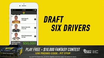 DraftKings $10,000 Fantasy NASCAR Contest TV Spot, 'Checkered Flag' - Thumbnail 7