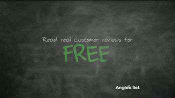Angie's List TV Spot, 'It's Free' - Thumbnail 10
