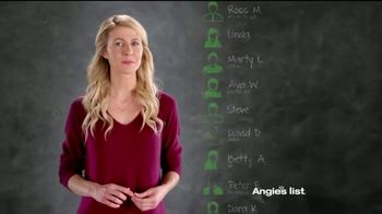 Angie's List TV Spot, 'It's Free' - Thumbnail 6