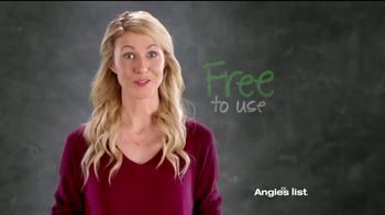 Angie's List TV Spot, 'It's Free'