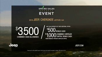 Jeep Spring Sales Event TV Spot, 'Break Free' [T2] - Thumbnail 4