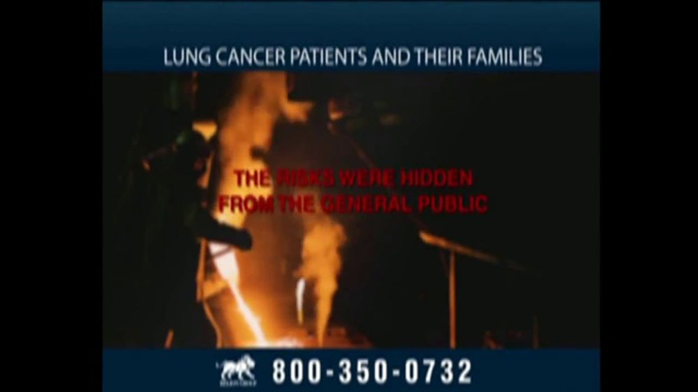 Relion Group TV Commercial, 'Lung Cancer Caused by Exposure to Asbestos' -  Video