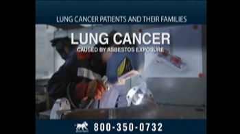 Relion Group TV Spot, 'Lung Cancer Caused by Exposure to Asbestos' - Thumbnail 4