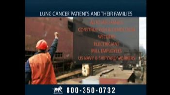 Relion Group TV Spot, 'Lung Cancer Caused by Exposure to Asbestos' - Thumbnail 5