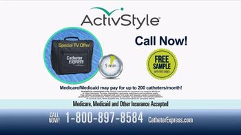 ActivStyle Catheter Express Program TV Spot, 'No Excuse' - Thumbnail 9