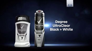 Degree UltraClear Black + White TV Spot, 'Saves Your Clothes' - Thumbnail 10