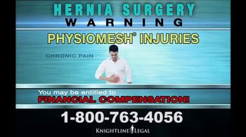 Knightline Legal TV Spot, 'Hernia Surgery' - Thumbnail 5