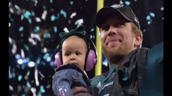 NFL Shop TV Spot, 'Super Bowl LII Champions Commemorative Film' - 69 commercial airings