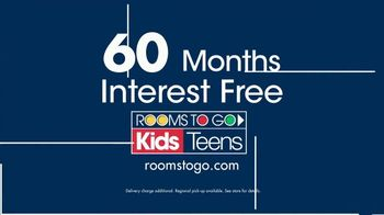 Rooms to Go Kids Anniversary Sale TV Spot, 'Bedroom Sets' - Thumbnail 7